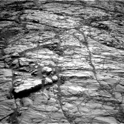 Nasa's Mars rover Curiosity acquired this image using its Left Navigation Camera on Sol 1848, at drive 1540, site number 66
