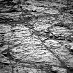 Nasa's Mars rover Curiosity acquired this image using its Left Navigation Camera on Sol 1848, at drive 1576, site number 66