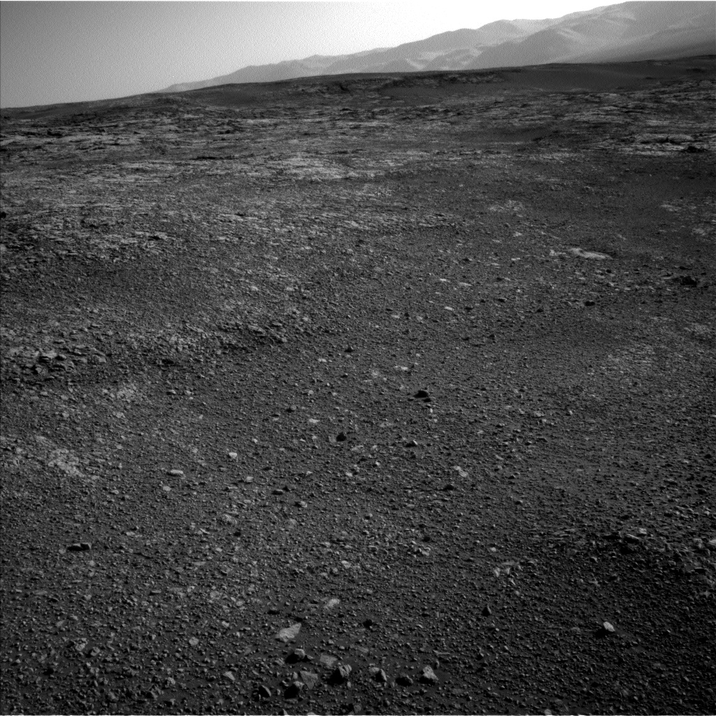 Nasa's Mars rover Curiosity acquired this image using its Left Navigation Camera on Sol 1848, at drive 1654, site number 66