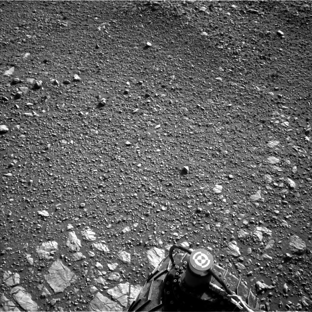 NASA's Mars rover Curiosity acquired this image using its Left Navigation Camera (Navcams) on Sol 1848