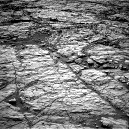Nasa's Mars rover Curiosity acquired this image using its Right Navigation Camera on Sol 1848, at drive 1582, site number 66