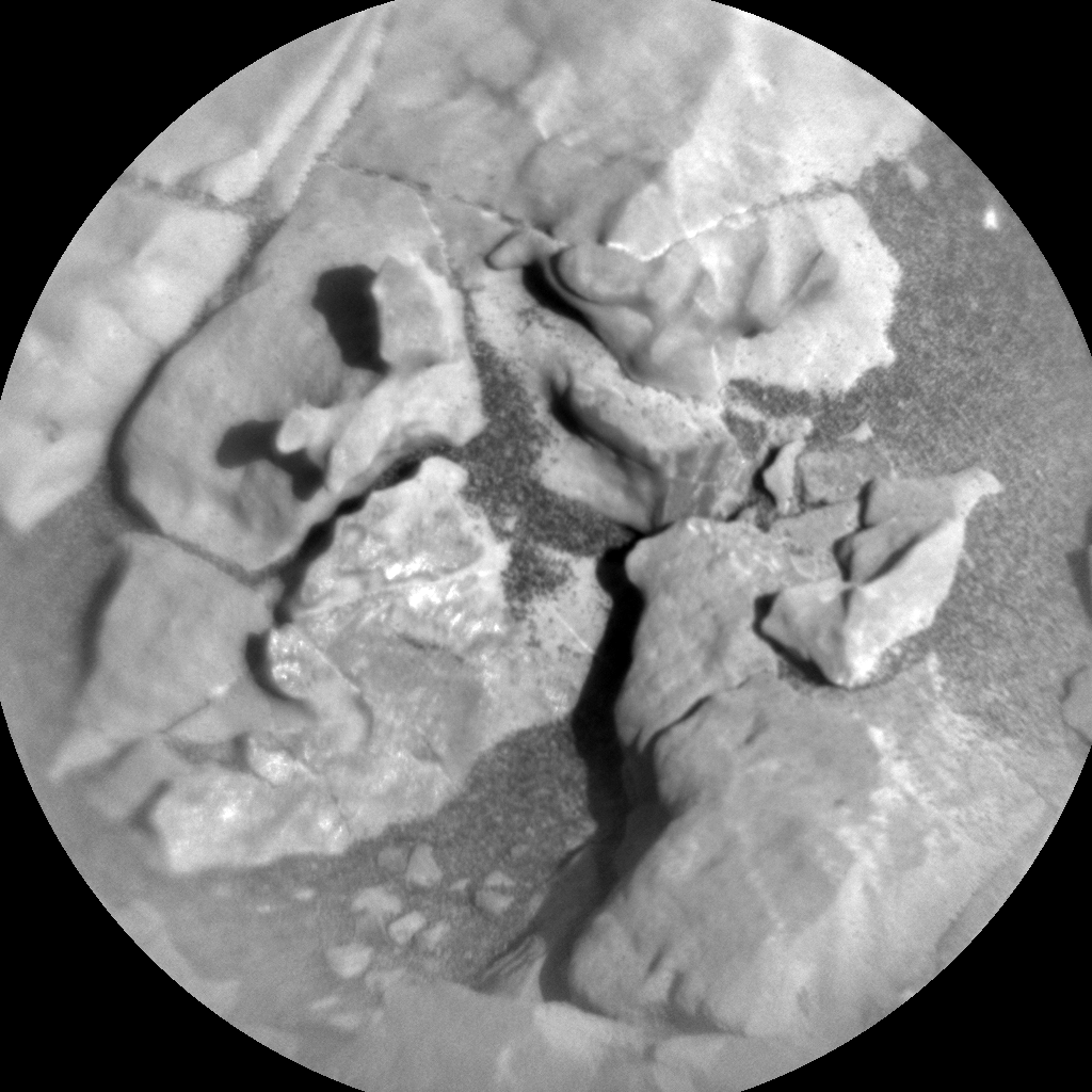 Nasa's Mars rover Curiosity acquired this image using its Chemistry & Camera (ChemCam) on Sol 1848, at drive 1516, site number 66