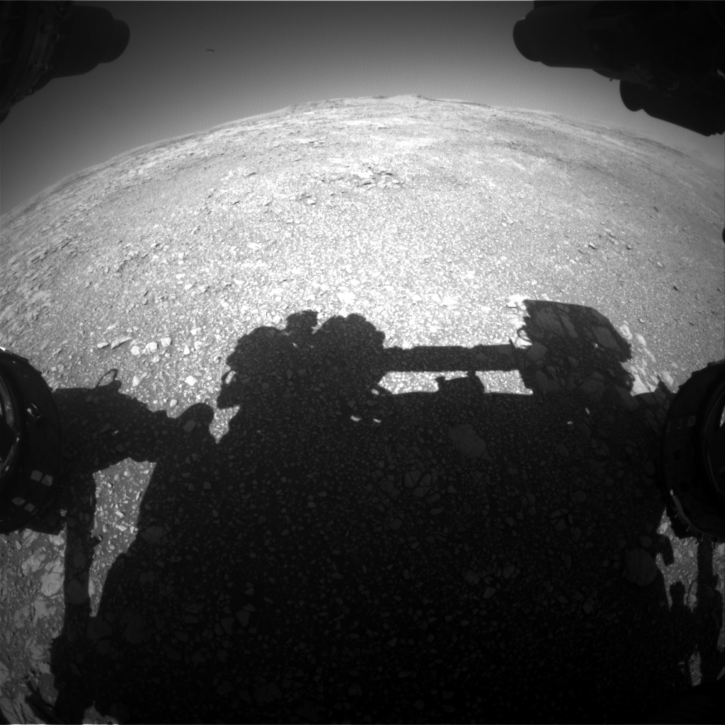 Nasa's Mars rover Curiosity acquired this image using its Front Hazard Avoidance Camera (Front Hazcam) on Sol 1849, at drive 1654, site number 66