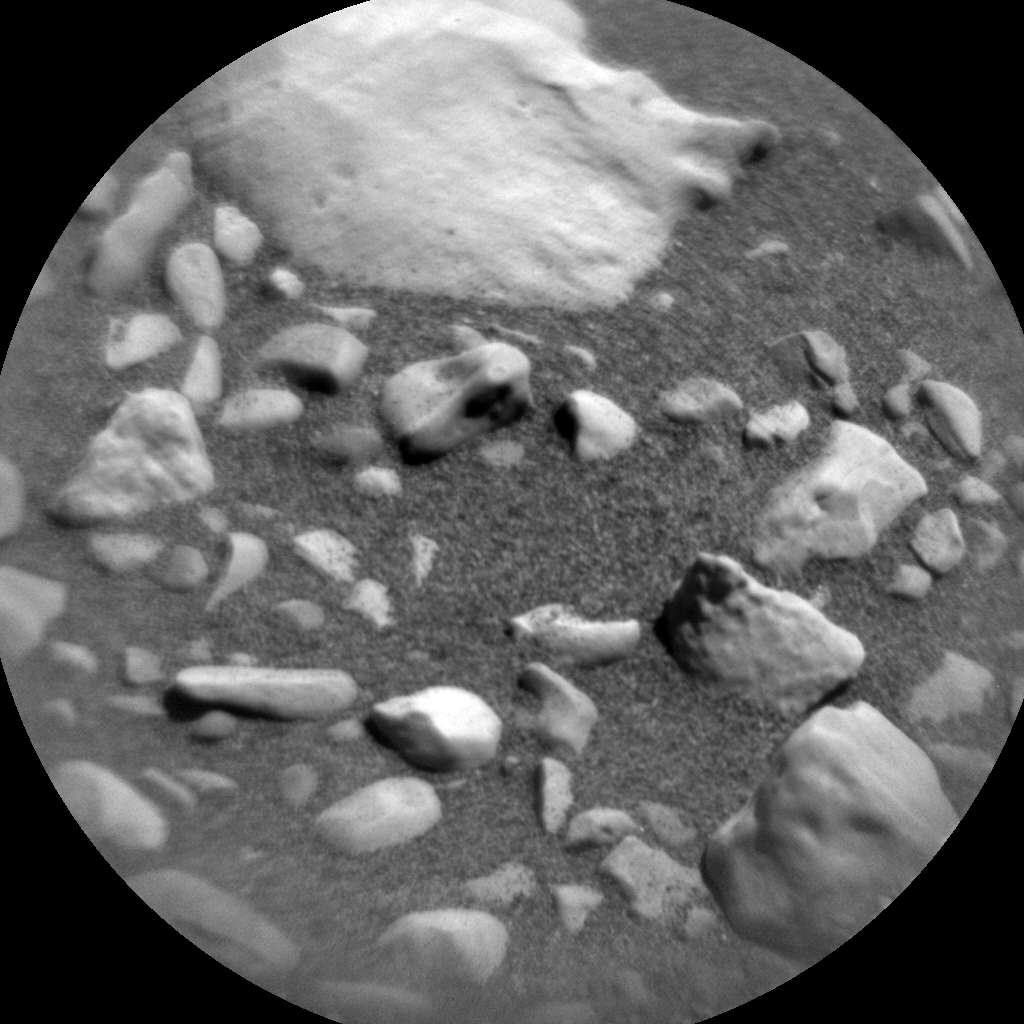 Nasa's Mars rover Curiosity acquired this image using its Chemistry & Camera (ChemCam) on Sol 1849, at drive 1654, site number 66