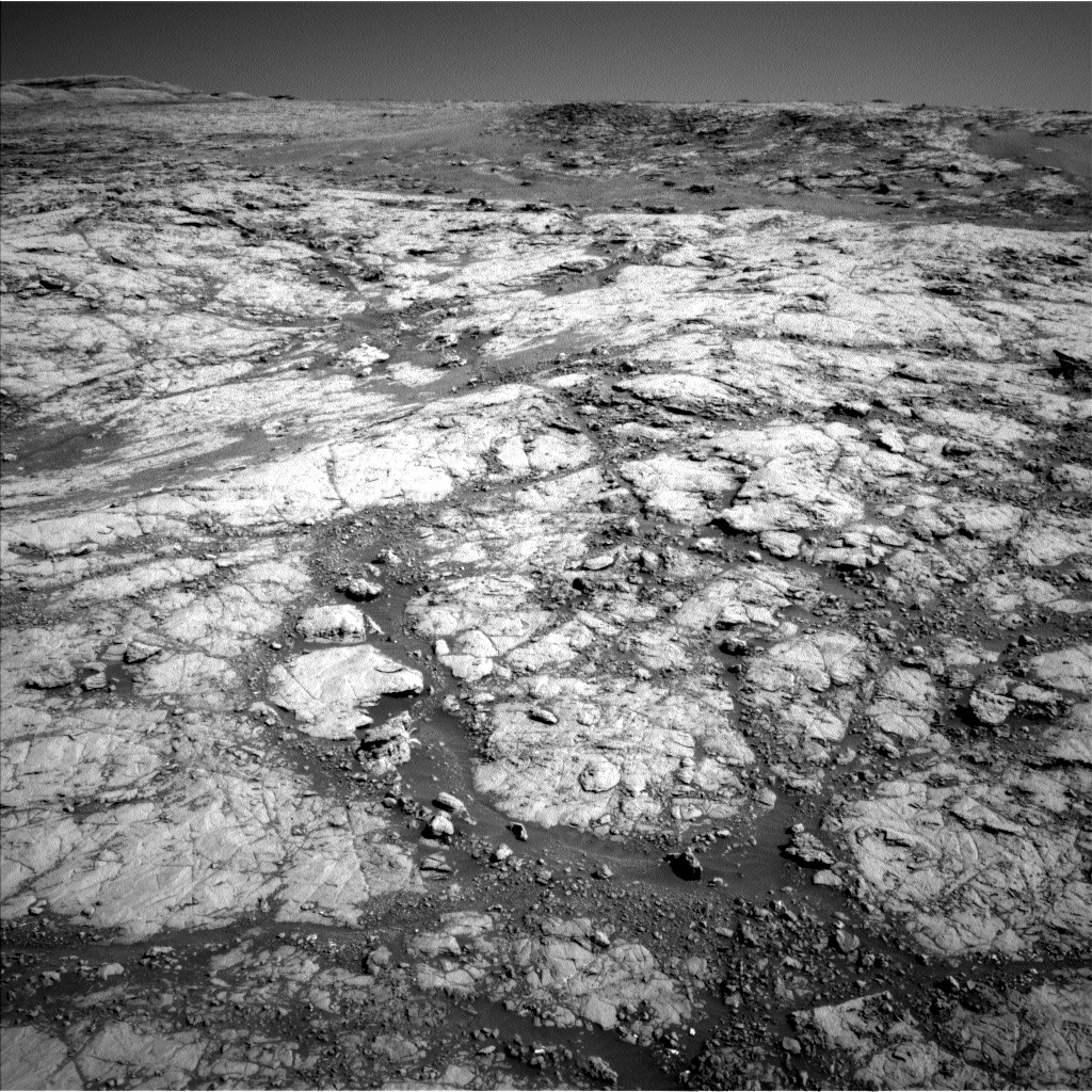 Nasa's Mars rover Curiosity acquired this image using its Left Navigation Camera on Sol 1850, at drive 1804, site number 66