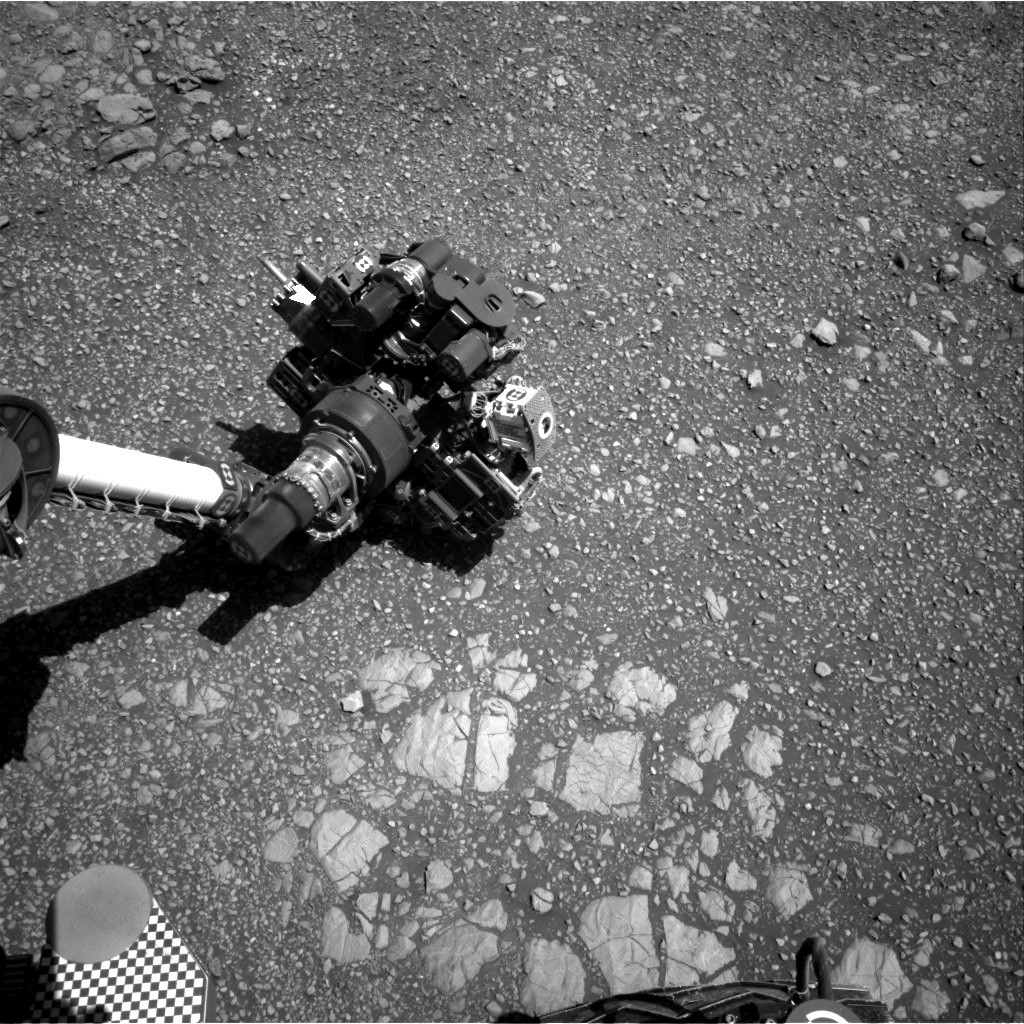 Nasa's Mars rover Curiosity acquired this image using its Right Navigation Camera on Sol 1850, at drive 1654, site number 66