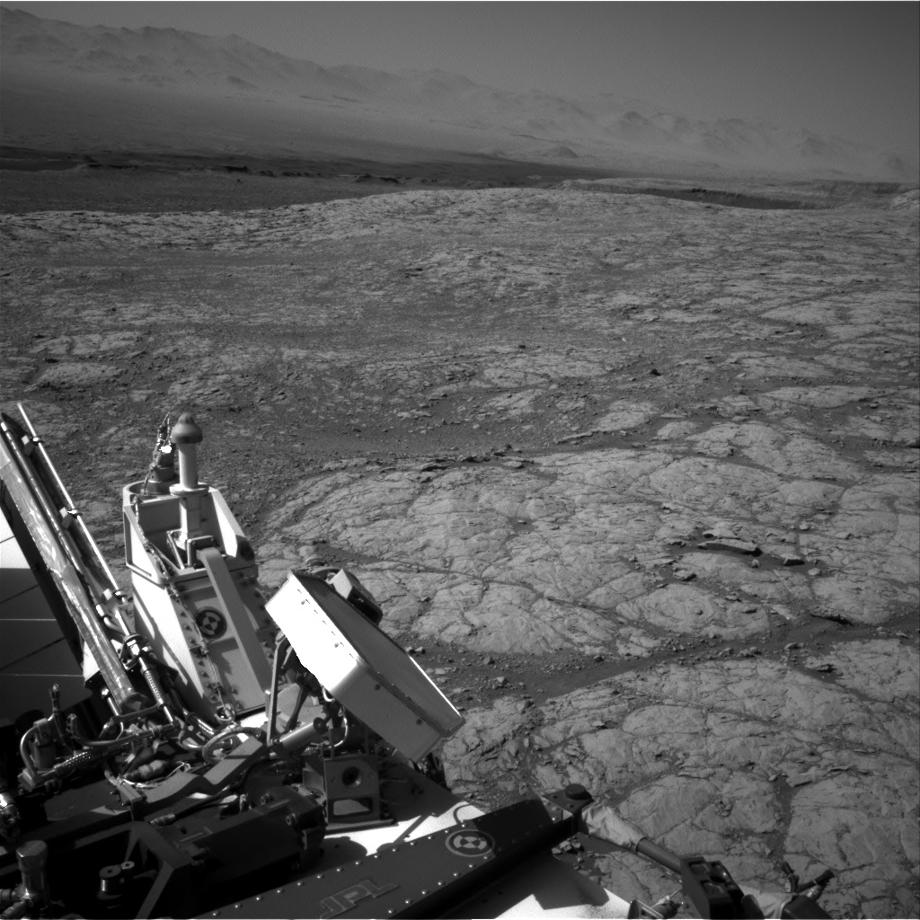 Nasa's Mars rover Curiosity acquired this image using its Right Navigation Camera on Sol 1850, at drive 1804, site number 66