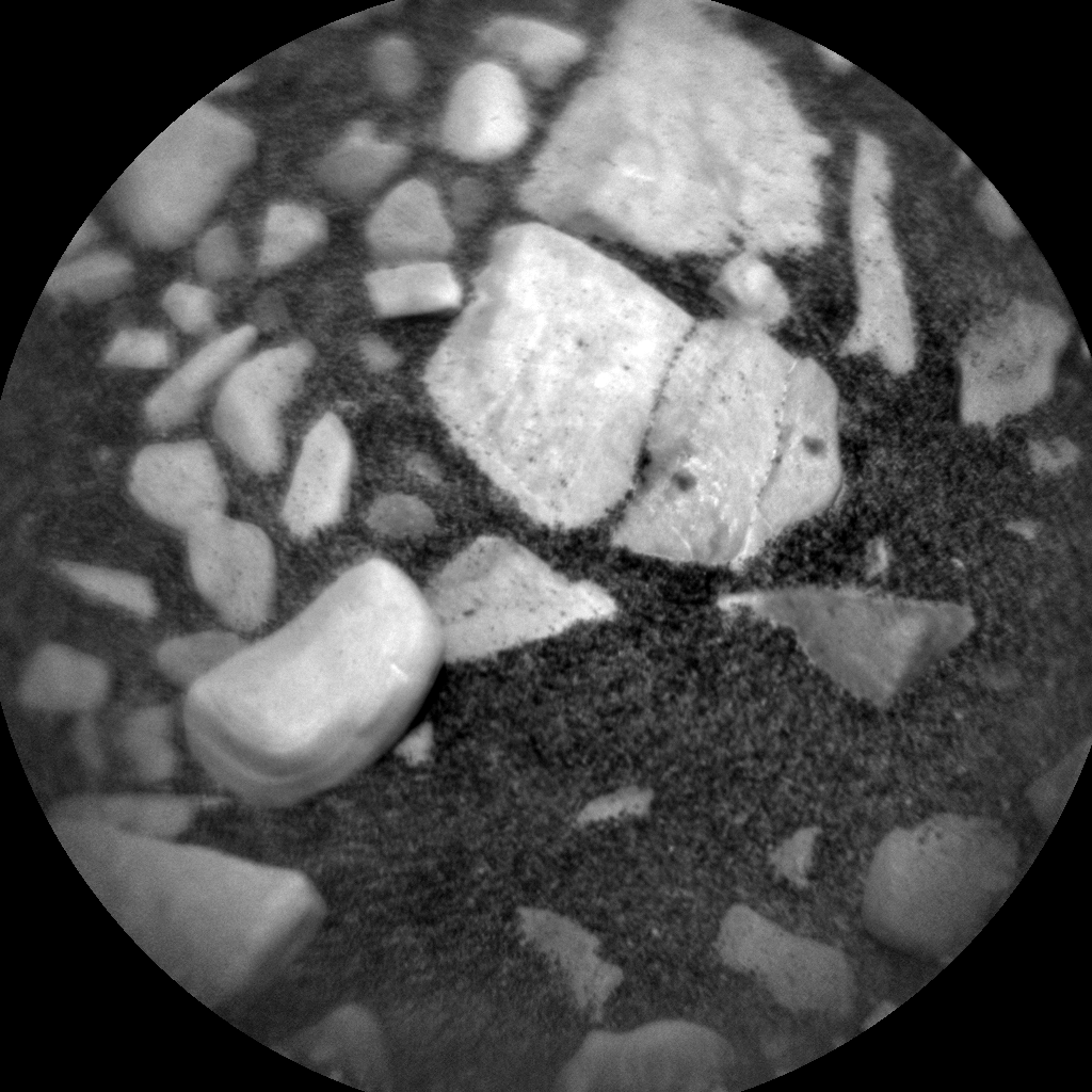 Nasa's Mars rover Curiosity acquired this image using its Chemistry & Camera (ChemCam) on Sol 1850, at drive 1654, site number 66