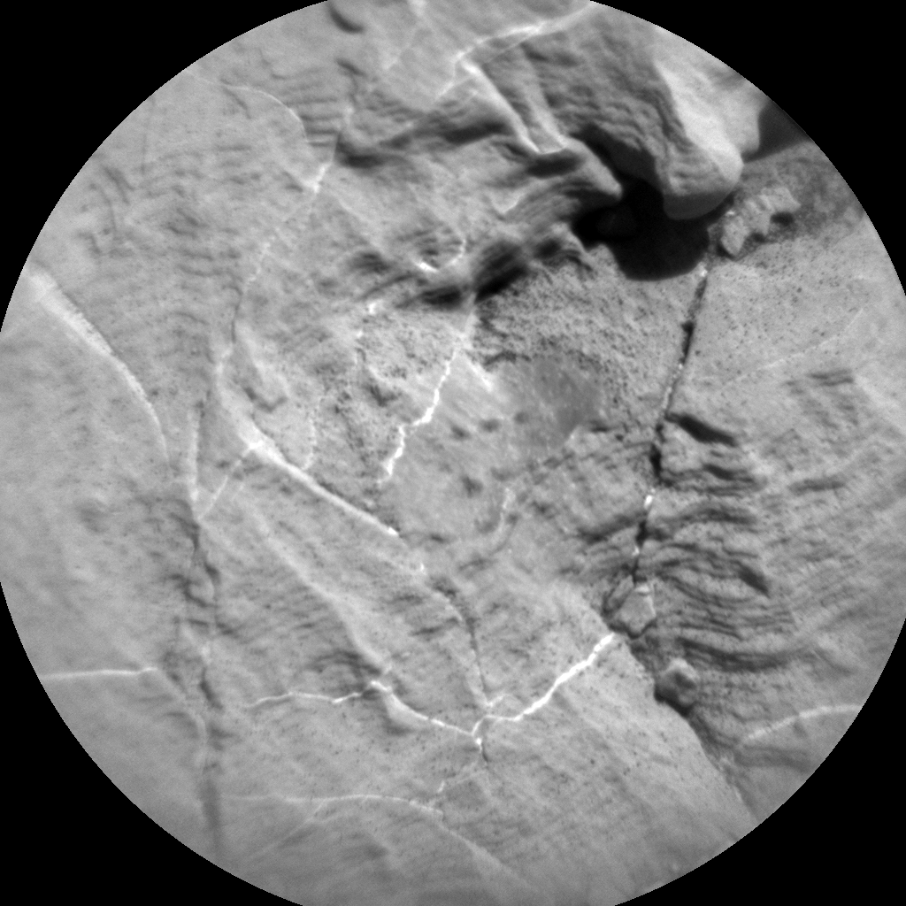 Nasa's Mars rover Curiosity acquired this image using its Chemistry & Camera (ChemCam) on Sol 1851, at drive 1804, site number 66