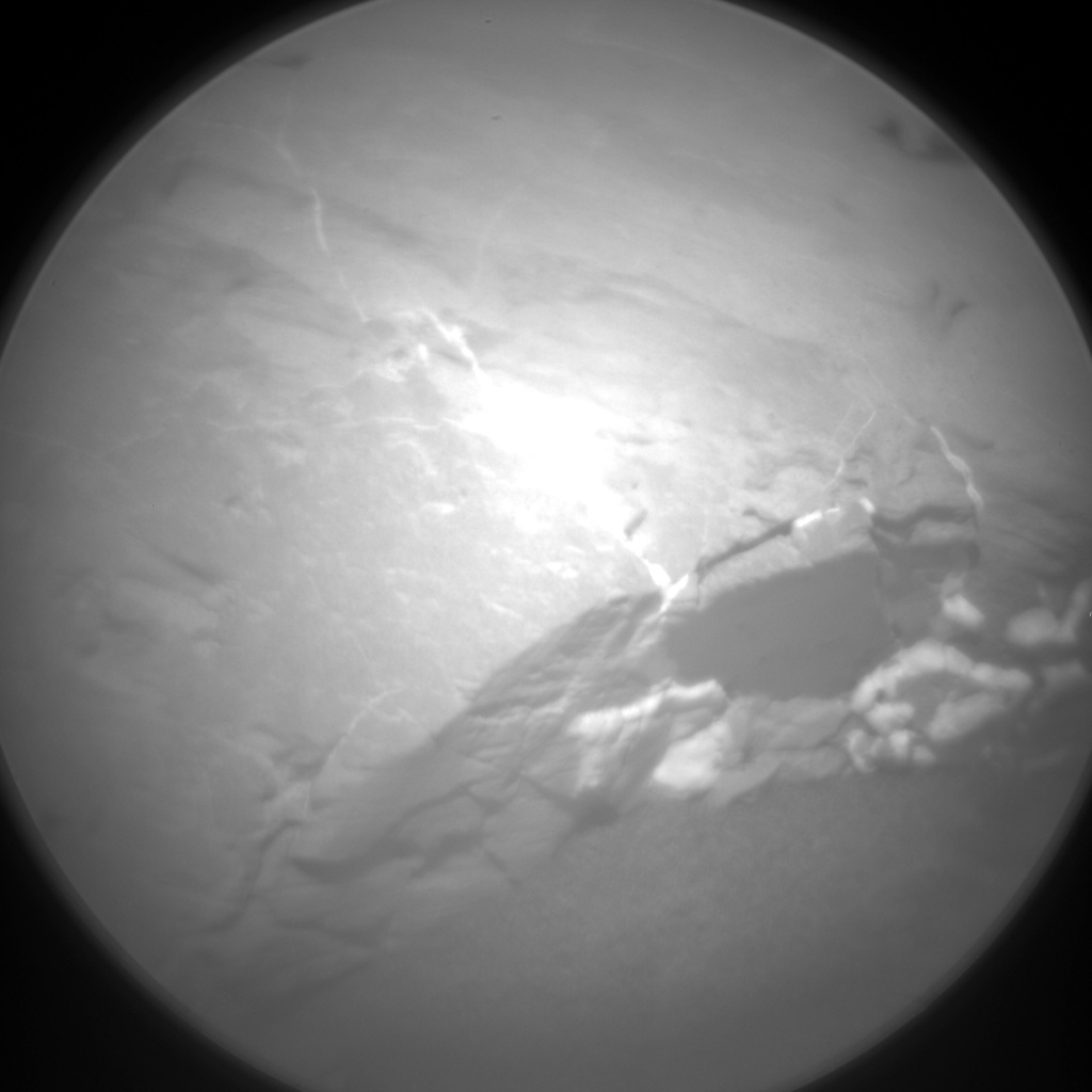 Nasa's Mars rover Curiosity acquired this image using its Chemistry & Camera (ChemCam) on Sol 1852, at drive 1804, site number 66