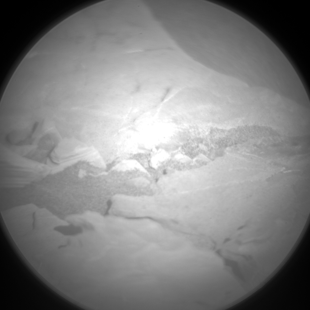 Nasa's Mars rover Curiosity acquired this image using its Chemistry & Camera (ChemCam) on Sol 1856, at drive 1804, site number 66