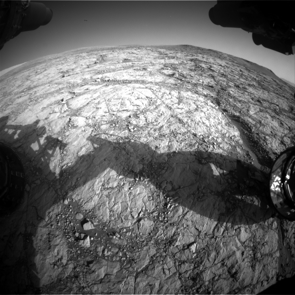 Nasa's Mars rover Curiosity acquired this image using its Front Hazard Avoidance Camera (Front Hazcam) on Sol 1859, at drive 1804, site number 66