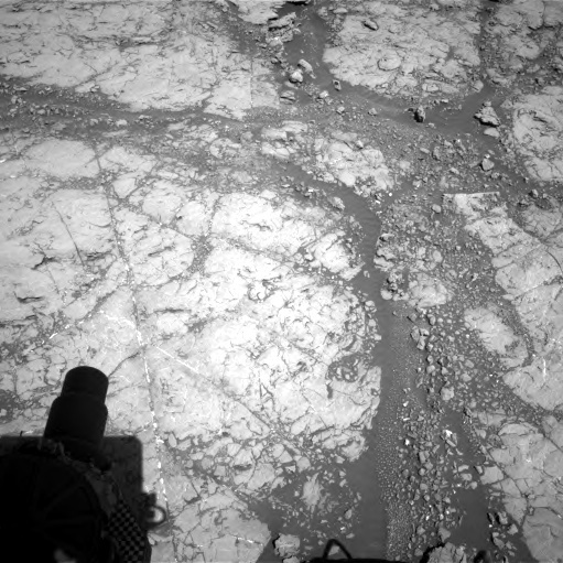 NASA's Mars rover Curiosity acquired this image using its Right Navigation Cameras (Navcams) on Sol 1860