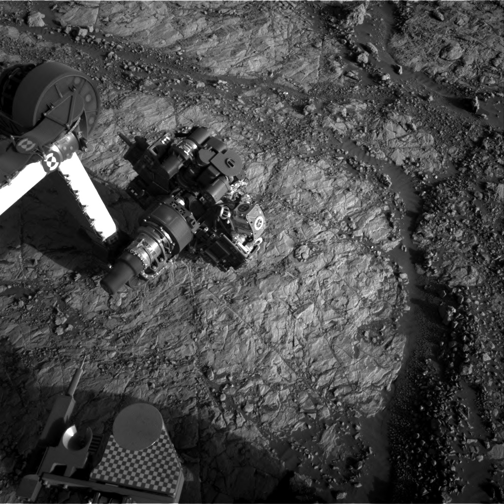 Nasa's Mars rover Curiosity acquired this image using its Right Navigation Camera on Sol 1863, at drive 1804, site number 66