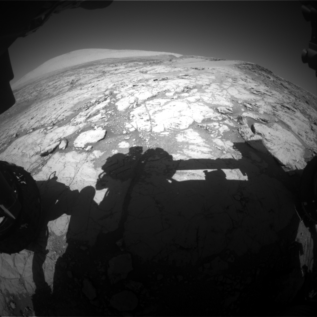 Nasa's Mars rover Curiosity acquired this image using its Front Hazard Avoidance Camera (Front Hazcam) on Sol 1864, at drive 1994, site number 66