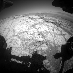 Nasa's Mars rover Curiosity acquired this image using its Front Hazard Avoidance Camera (Front Hazcam) on Sol 1864, at drive 1918, site number 66