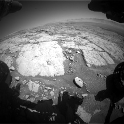 Nasa's Mars rover Curiosity acquired this image using its Front Hazard Avoidance Camera (Front Hazcam) on Sol 1864, at drive 1942, site number 66