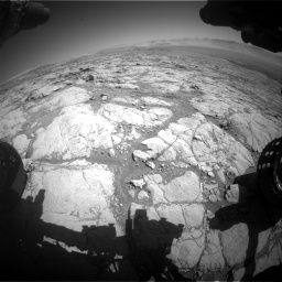 Nasa's Mars rover Curiosity acquired this image using its Front Hazard Avoidance Camera (Front Hazcam) on Sol 1864, at drive 1954, site number 66