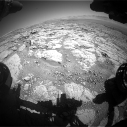 Nasa's Mars rover Curiosity acquired this image using its Front Hazard Avoidance Camera (Front Hazcam) on Sol 1864, at drive 1966, site number 66
