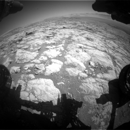 Nasa's Mars rover Curiosity acquired this image using its Front Hazard Avoidance Camera (Front Hazcam) on Sol 1864, at drive 1972, site number 66