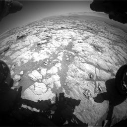 Nasa's Mars rover Curiosity acquired this image using its Front Hazard Avoidance Camera (Front Hazcam) on Sol 1864, at drive 1978, site number 66