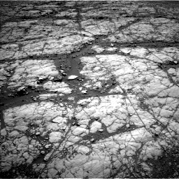 Nasa's Mars rover Curiosity acquired this image using its Left Navigation Camera on Sol 1864, at drive 1882, site number 66