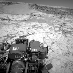 Nasa's Mars rover Curiosity acquired this image using its Left Navigation Camera on Sol 1864, at drive 1918, site number 66