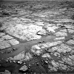 Nasa's Mars rover Curiosity acquired this image using its Left Navigation Camera on Sol 1864, at drive 1924, site number 66