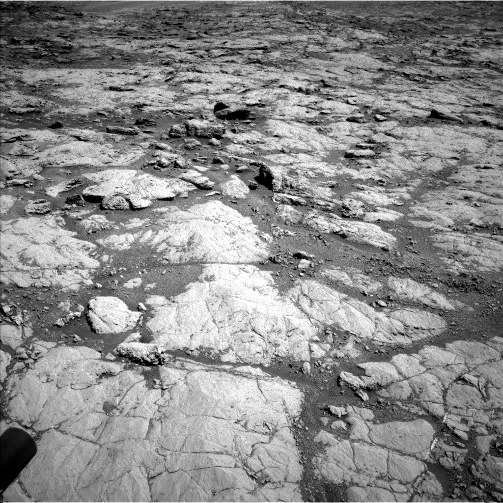 Nasa's Mars rover Curiosity acquired this image using its Left Navigation Camera on Sol 1864, at drive 1942, site number 66