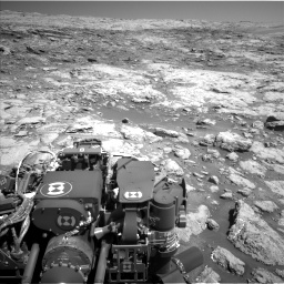 Nasa's Mars rover Curiosity acquired this image using its Left Navigation Camera on Sol 1864, at drive 1966, site number 66