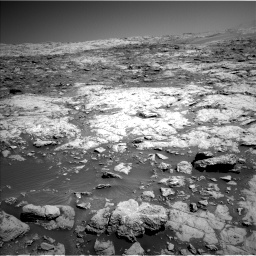 Nasa's Mars rover Curiosity acquired this image using its Left Navigation Camera on Sol 1864, at drive 1984, site number 66