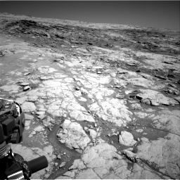 Nasa's Mars rover Curiosity acquired this image using its Right Navigation Camera on Sol 1864, at drive 1942, site number 66