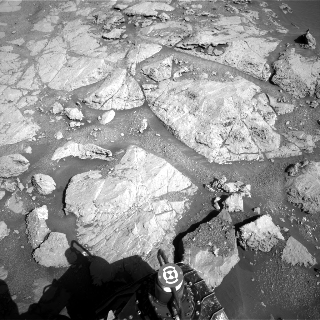 Nasa's Mars rover Curiosity acquired this image using its Right Navigation Camera on Sol 1864, at drive 1994, site number 66