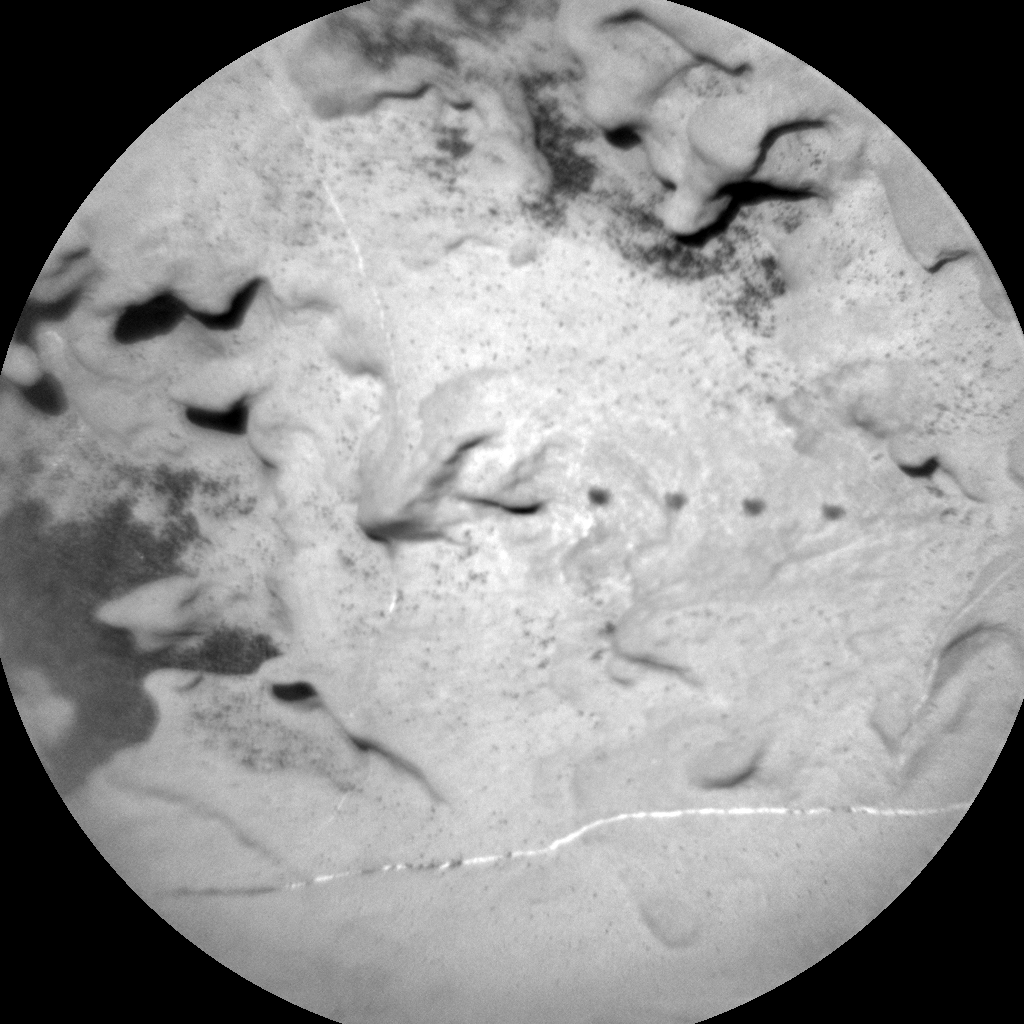 Nasa's Mars rover Curiosity acquired this image using its Chemistry & Camera (ChemCam) on Sol 1865, at drive 1994, site number 66