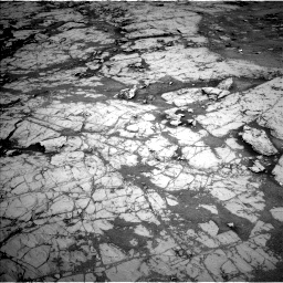 Nasa's Mars rover Curiosity acquired this image using its Left Navigation Camera on Sol 1867, at drive 2042, site number 66