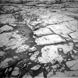 Nasa's Mars rover Curiosity acquired this image using its Left Navigation Camera on Sol 1867, at drive 2078, site number 66