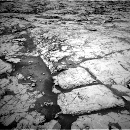 Nasa's Mars rover Curiosity acquired this image using its Left Navigation Camera on Sol 1867, at drive 2084, site number 66