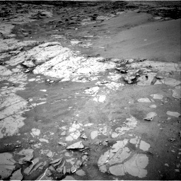 Nasa's Mars rover Curiosity acquired this image using its Right Navigation Camera on Sol 1867, at drive 2006, site number 66