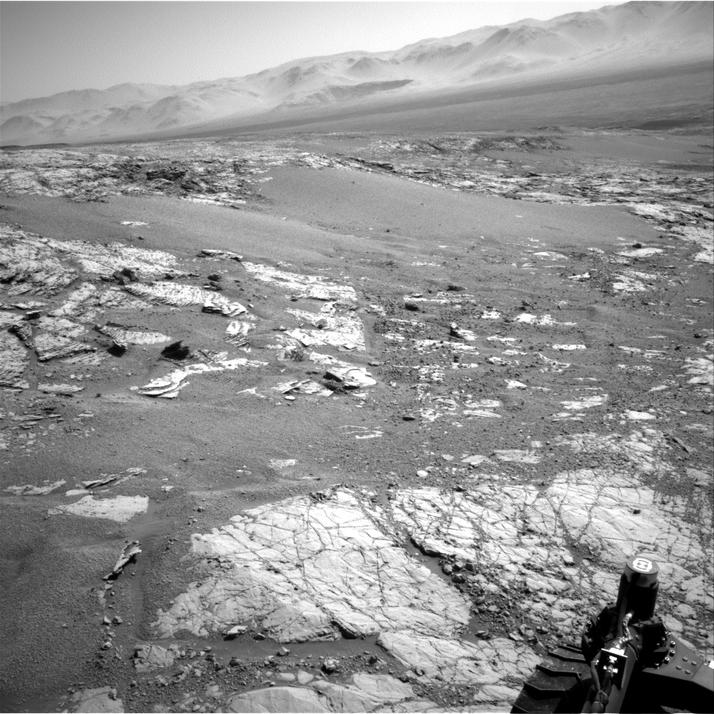 Nasa's Mars rover Curiosity acquired this image using its Right Navigation Camera on Sol 1867, at drive 2168, site number 66