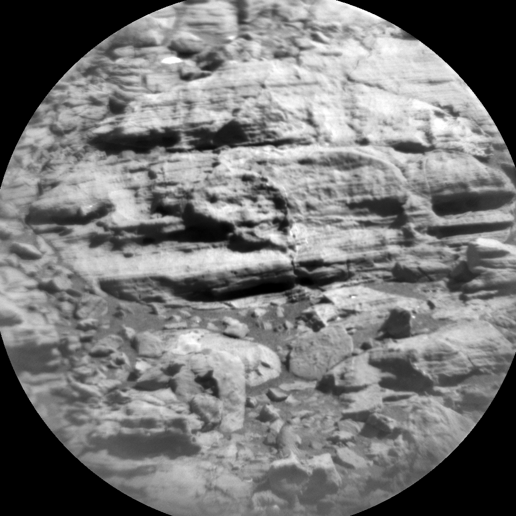Nasa's Mars rover Curiosity acquired this image using its Chemistry & Camera (ChemCam) on Sol 1868, at drive 2168, site number 66