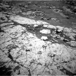 NASA's Mars rover Curiosity acquired this image using its Left Navigation Camera (Navcams) on Sol 1869
