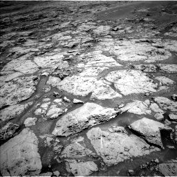 Nasa's Mars rover Curiosity acquired this image using its Left Navigation Camera on Sol 1869, at drive 2210, site number 66