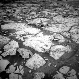 Nasa's Mars rover Curiosity acquired this image using its Left Navigation Camera on Sol 1869, at drive 2234, site number 66