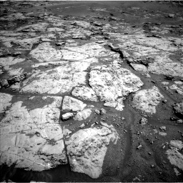 Nasa's Mars rover Curiosity acquired this image using its Left Navigation Camera on Sol 1869, at drive 2252, site number 66