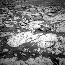 Nasa's Mars rover Curiosity acquired this image using its Left Navigation Camera on Sol 1869, at drive 2270, site number 66