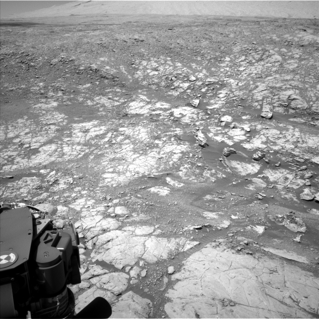 Nasa's Mars rover Curiosity acquired this image using its Left Navigation Camera on Sol 1869, at drive 2312, site number 66