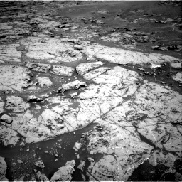 Nasa's Mars rover Curiosity acquired this image using its Right Navigation Camera on Sol 1869, at drive 2198, site number 66