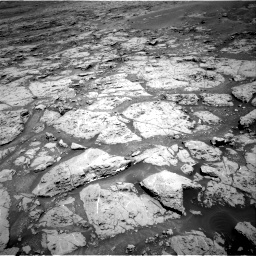 Nasa's Mars rover Curiosity acquired this image using its Right Navigation Camera on Sol 1869, at drive 2210, site number 66