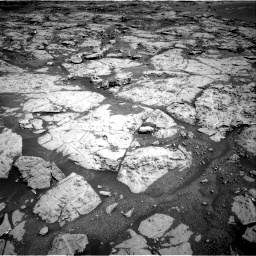 Nasa's Mars rover Curiosity acquired this image using its Right Navigation Camera on Sol 1869, at drive 2234, site number 66