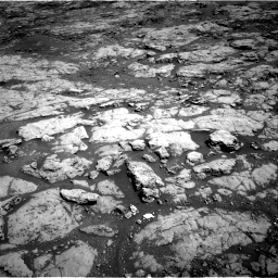 Nasa's Mars rover Curiosity acquired this image using its Right Navigation Camera on Sol 1869, at drive 2306, site number 66